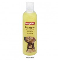 Beaphar Aloevera Brown Coat Dog Shampoo 250 Ml