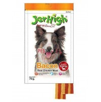 Jerhigh Dog Treats Bacon 70gm