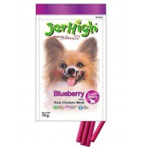 Jerhigh Dog Treats Fruity Blueberry Sticks 70 Gm