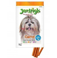 Jerhigh Dog Treats Carrot Stick 70 Gm
