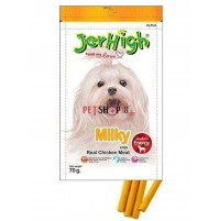 Jerhigh Dog Treats Milk Sticks 70gm