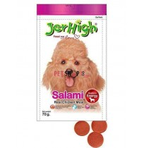 Jerhigh Dog Treats Salami 70 Gm
