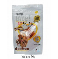 Super Bite Dog Treats Chicken Chips 70 Gm