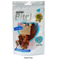 Super Bite Dog Treats Chicken Breast 70 Gm