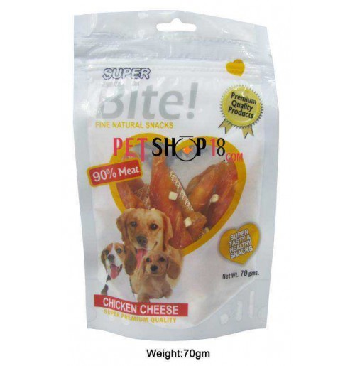 Super Bite Dog Treats Chicken Cheese 70 Gm