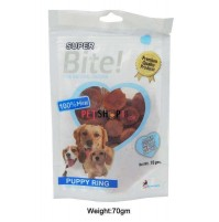 Super Bite Dog Treats Puppy Ring 70 Gm