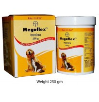 Bayer Dog Supplements Pharmaceutic Megaflex 250 gm