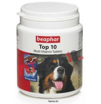 Beaphar Dog Supplements Top 10 Multi Vitamin 60 Tabs