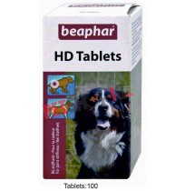 Beaphar Dog Supplements HD 100 Tablets