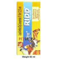 Ridd Mange And Ectoparasites Solution For Dogs And Cats 60 ml