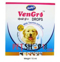 Venkys Dog Supplements VenGro Drops For Pets 20 ml