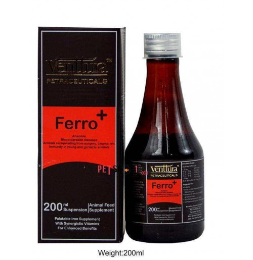 Venttura Dog Supplements Ferro Plus 200ml