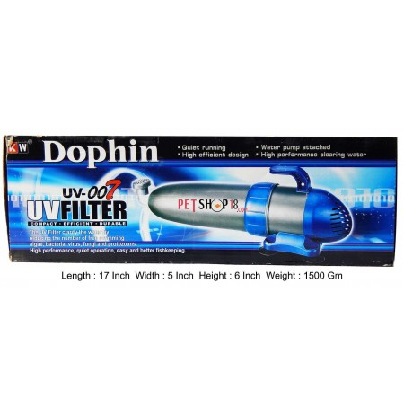 Dophin Aquarium Uv Filter Uv 007