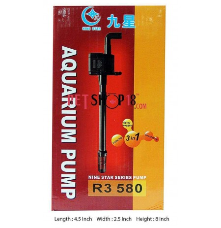 Minjiang Nine Star Air Pump R3 580