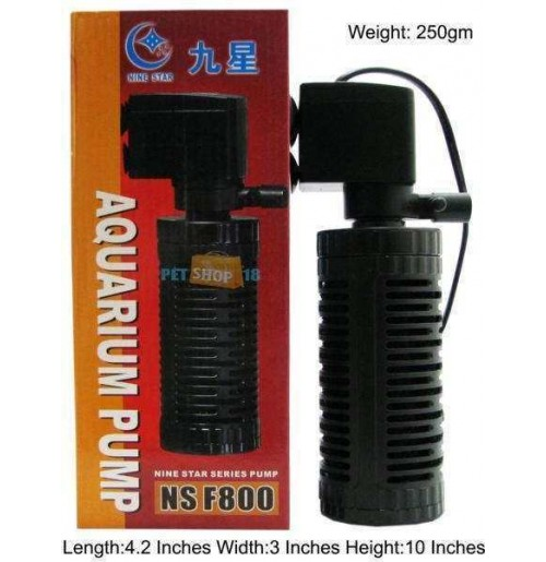 Nine Star Aquarium Pump NS F800