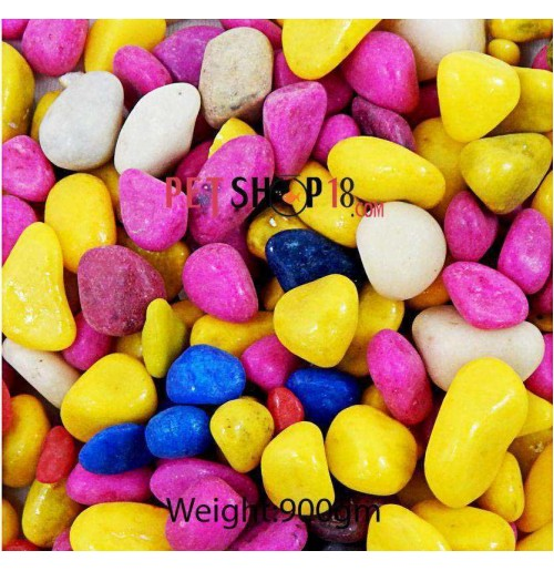 Pink Yellow Gravel Small