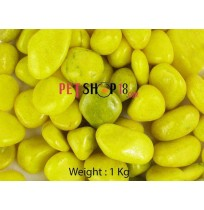Yellow Aquarium Gravel 1 Kg
