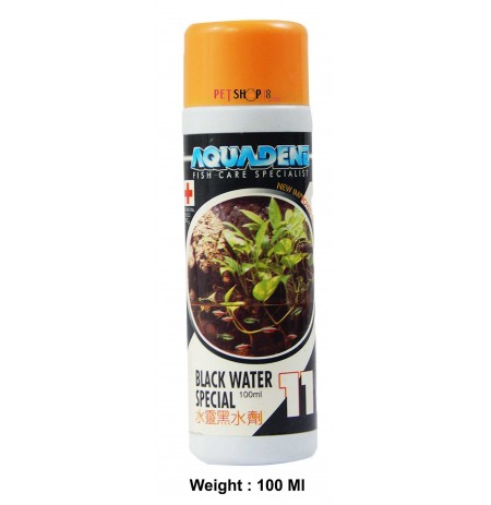 Aquadene Fishes Med and Supplements Black Water Special 100 Ml