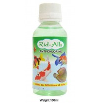 Rid All Fishes Med and Supplements Anti Chlorine 100ml