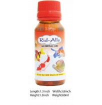 Rid All Fishes Med and Supplements General Aid 60ml