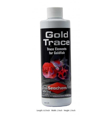 Seachem Fishes Med and Supplements Gold Trace Elements 250 ml