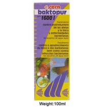 Sera Fishes Med and Supplements Baktopur 100ml