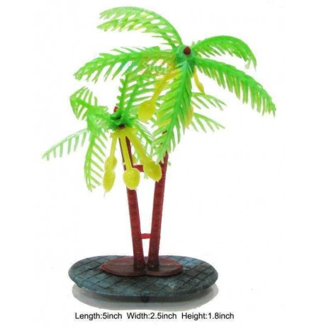Topfin Aquarium Plant Coconut Tree Small