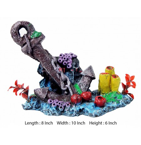 Anchor Large Aquarium Decor