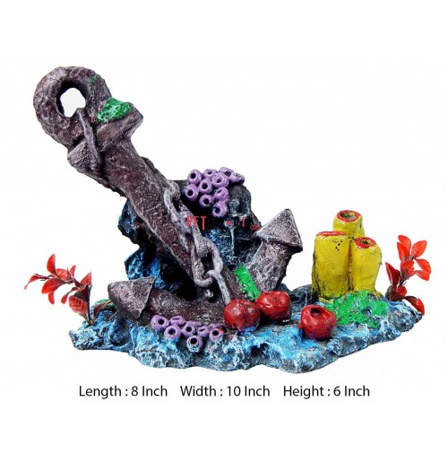 Anchor large aquarium decor fishes buy at for Anchor decoration runescape