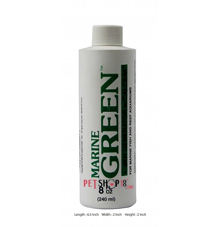 Marine Fishes Med and Supplements Green DKH Generator fish Medicine 240 ml