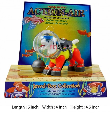 Robot Dog Aquarium Toy