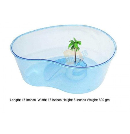 Turtle Tray Blue Large