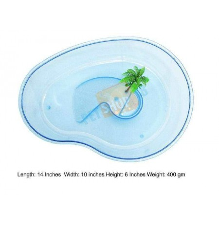 Turtle Tray Blue Medium