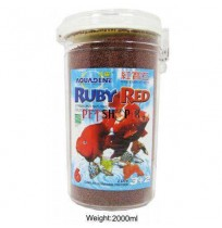 Aquadene Fish Food Ruby Red 2000 Ml