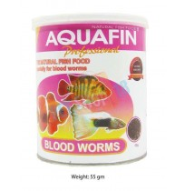Aquafin Fish Food Blood Worms 55gm