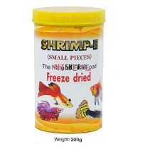 Sobo Fish Food Shrimp E Freeze Dried Small Pcs 200 Gm