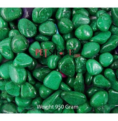 Dark Green Aquarium Gravel 1 Kg