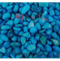 Sky Blue Aquarium Gravel 1 Kg