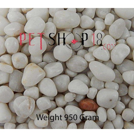 White Gravel Aquarium Medium