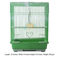 Bird Cage Green Flat Small