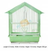 Bird Cage Hut Small Green