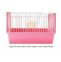 Mouse Cage Small Pink