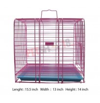 Puppy Cage Square Pink