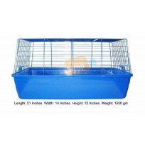 Rabbit Cage Blue Small R1
