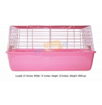 Rabbit Cage Pink Small R1