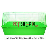 Rabbit Cage Green Small