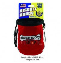 Biscuit Buddy Treat Pouch Red