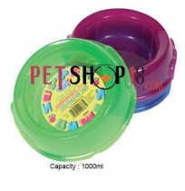 Pets Brand Translucent Supper Bowls 1000ml