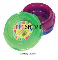 Pets Brand Translucent Supper Bowls 500ml