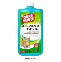 Simple Solution Stain and Odour Remover For Cat 500ml